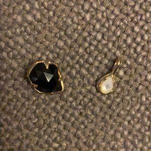 Kendra Scott Jewelry - Kendra Scott gold chain and 3 pendants